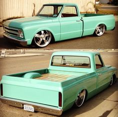 This truck is gorgeous! I love the wood bed! Mine was just like this!!