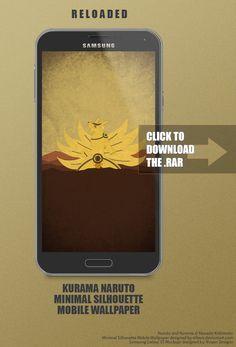 Kurama And Naruto Mobile Wallpaper by SL4eva