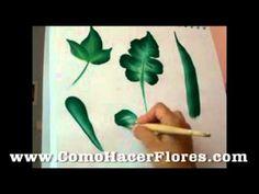 Miguel Rincón Pincelada Básica La Rosa - YouTube