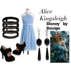 by indeckr (Disney by Design) http://www.polyvore.com/alice_kingsleigh/set?id=77071088 http://waltswardrobe.tumblr.com/tagged/Alice+in+Wonderland