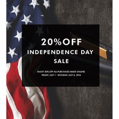 TOMORROW! Celebrate the 4th of July in style with 20% OFF all Glampalm purchases made online. Renowned in the industry for quality craftsmanship and expert standardsnGlampalm products are hardly ever seen on sale - until now. Glampalm is offering rare savings to its entire line of professional hair tools and accessories. The countdown starts Monday July 1st.
