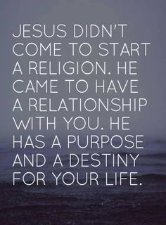 """..Jesus is my SAVIOR, NOT my """"religion""""..there IS a DIFFERENCE :)"""