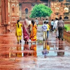 After the downpour - India