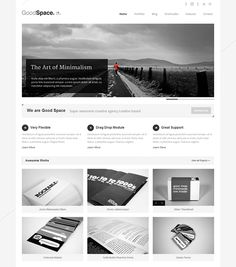 Goodspace - Minimalist white - http://themes.goodlayers.com/goodspace/