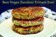 This recipe is easy and fritters taste crazy good , crispy on outside and creamy on the inside .These easy Zucchini Fritters are a delicio...
