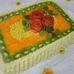 - Aprenda a preparar essa maravilhosa receita de Torta prática para fazer para festas Sandwich Cake, Sandwiches, Grazing Tables, Quiche, Antipasto, Polenta, Coco, Cake Decorating, Food And Drink