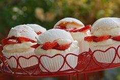 Cupcake de morango...