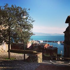 Panorama in diretta da #SantaMargherita, #Liguria [foto da #Instagram]