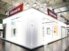 Der 240 qm große Messestand von Europas führender Fenstermarke Internorm. Mehr Infos auf www.mmd-livedesign.de//deutsch/projekte.html