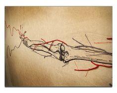 Anatomie Textile | Beautiful, Needle felting and Muscle