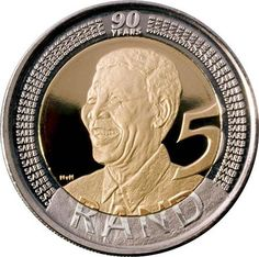 2008 Nelson Mandela commemorative Birthday coins in UNC and proof - Fastest appreciating coins in history Sell Old Coins, Old Coins Worth Money, Coin Worth, Gold And Silver Coins, Coin Values, Coins For Sale, World Coins, 90th Birthday, Us Coins