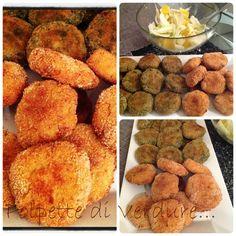 Cocco e Cannella: Polpette di verdure al forno