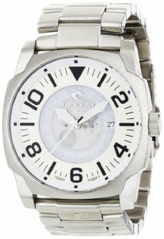 d8f60b925 Rip Curl Men's A2404-WHI Undercover SSS Stainless Steel Fashion Watch Rip  Curl. Save