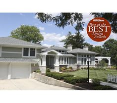 Award winning renovation converting a plain 1950's split level home into a beautiful, prairie inspired residence.