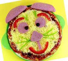Συνταγή Πίτσα Γάτα για το Παιδικό Πάρτι : PaidikoParty.gr