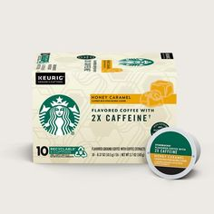 Flavored Coffees | Starbucks® Coffee at Home Roasting Coffee At Home, Iced Coffee At Home, Clear Coffee Mugs, Honey Caramel, Cinnamon Dolce, Cozy Meals, Fall Drinks, Latte Recipe, Caramel Flavoring