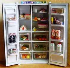 New creations for custom orders  - Fabulous Filled American style fridges