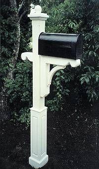Wooden Cedar Elegant Mailbox Post 280.00