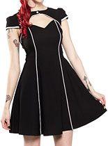 Dresses - Flight Of Fashion Retro Dress by Sourpuss Clothing