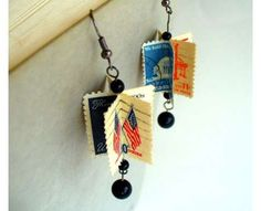 70 Pieces of Eco-Friendly Jewelry - From Postage Stamp Earrings to Upcycled Ammo Rings (CLUSTER)