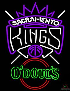 Odouls Sacramento Kings Neon Sign NBA Teams Neon Light
