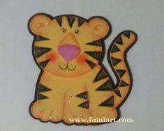 Descarga los moldes de este pequeño Tigre 🥰🥰🥰Mini 👈👈👈👈 Entra para los moldes 🙂 Tigre Animal, Felt Patterns, Tigger, Disney Characters, Fictional Characters, Diy, Ideas, Murals, Animals Of The Rainforest