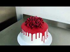 Цветные шоколадные подтеки для торта - YouTube Syrup, Ale, Birthday Cake, Cooking Recipes, Sweet, Desserts, Food, Candy, Tailgate Desserts