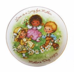 AVON Mother's Day Plate 1983 Love Is a Song For Mother   http://stores.ebay.com/The-Rolling-Wave?_trksid=p2047675.l2563