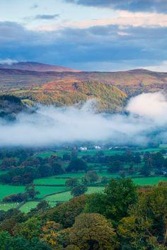 Conwy Valley, North Wales