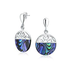 Checkout Swirling Disc Drops at BlingJewelry.com