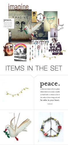 """imagine"" by plumsandhoneyvintage ❤ liked on Polyvore featuring art and contestentry"