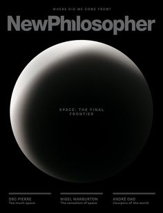 My new Interview with New Philosopher magazine on The Future of Humanity in Outer Space #outerspace #spacesecurity #spacecolonies #futureofspace #spaceexploration #humanenhancement Human Enhancement, The Final Frontier, Space Exploration, Outer Space, Magazine, World, Interview, Articles, Future