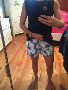 Dear John Finnegan Printed Cuffed Short. LOVED THESE But they were too big :-( says size 4/ waist 27