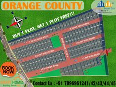 Plots For Sale, Smart City, Buy 1, Smart Home, Orange County, Investing, Real Estate, Homes, How To Plan