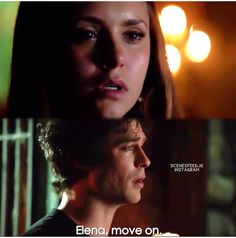 #TVD The Vampire Diaries season 6  Elena & Damon