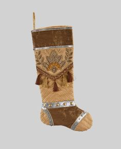 "Katherine's Collection The Gilded Seasons Collection Two 24"" Celebrations Christmas Stockings Free Ship"