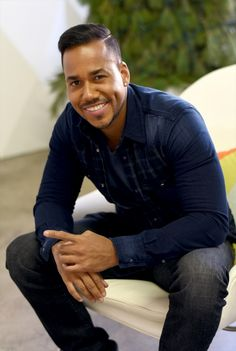 Romeo Santos - I like his songs...such a romantic man! And that dimple