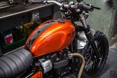 Triumph Motorcycles took the covers off a stunning custom Street Twin at Bike Shed Paris 2016, being held at Les Docks Cite de la Mode et du Design this weekend. The bike has been designed and built by Down and Out Café Racers in conjunction with Triumph and is based on the newly-launched, 900cc High …