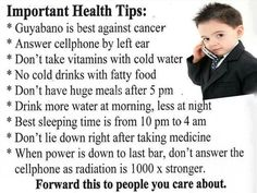 Important General Health Tips