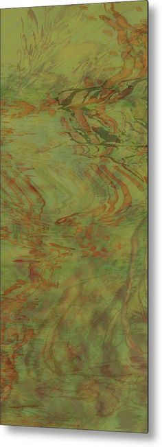 Wall Decor Flow Improvement In The Grass Metal Print by Kristin Doner Fine Art Prints, Framed Prints, Canvas Prints, Fine Art America, Art Decor, Flow, Grass, Contemporary Art, Abstract Art