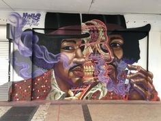 To celebrate Black History Month, we've gathered murals showcasing some well-known figures, but also some less familiar faces.