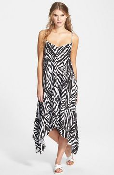 Volcom 'Fashion Week' Print Maxi Dress available at #Nordstrom