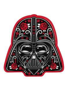 The dark side of the Force is covered in roses!