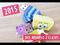 DIY: Borrador a USB (:  Convierte tu borrador a un USB que puedes usar para el regreso a clases!