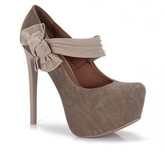 Sapato Feminino Lara Costa 6383019 - Bege - Passarela Cal�os - Cal�os online