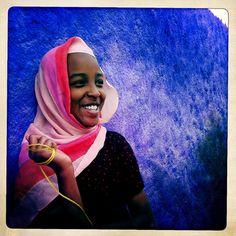 Harar woman Hipstamatic - Ethiopia by Eric Lafforgue, via Flickr