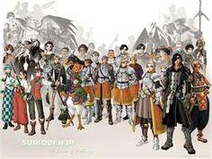 Suikoden 3 is the best!