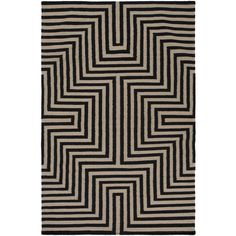 Maze Flatweave Ink Area Rug ($126) ❤ liked on Polyvore featuring home, rugs, flatwoven rug, flat woven rugs, maze rug, flat woven area rugs and flatweave rugs