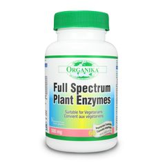 Full Spectrum Plant Enzymes - Enzyme blend including protease, amylase and lipase help digest protein, carbs and fat respectively for better general health. Plant sourced enzymes have better digestion/absorption; better capability for health benefits! Digestive enzyme blend helps body to utilize other nutrients and minerals, for better overall health.