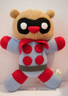 Bucky Bear/s by UraHameshi.deviantart.com on @deviantART